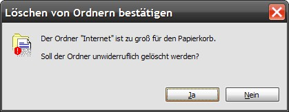 Internet l&#246;schen